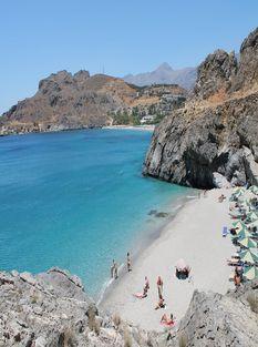Греция,Агиос Николаос пляж