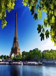 Франция,Париж летом