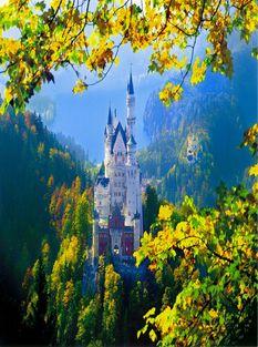 Германия,Мюнхен Neuschwanstein-Castle 2